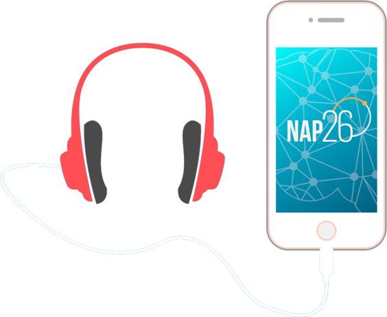 Headphones and Phone with Nap26